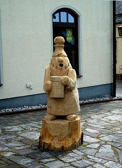 Holzskulpter, Figure, Carving, Seiffen, Skulpter