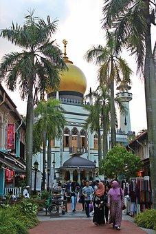 Singapore, Mosque, Islam, Tourist, Local People, Shrine
