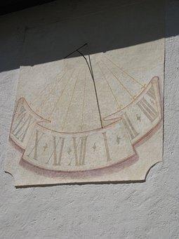 Sundial, Time, Slovenia, Clock, Time Indicating