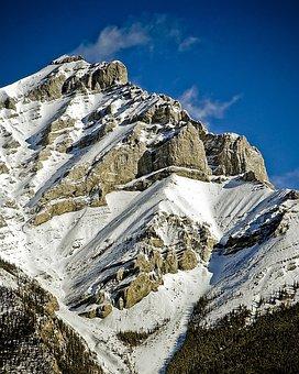 Mountain, Peak, Snow, Landscape, Sky, Adventure, High