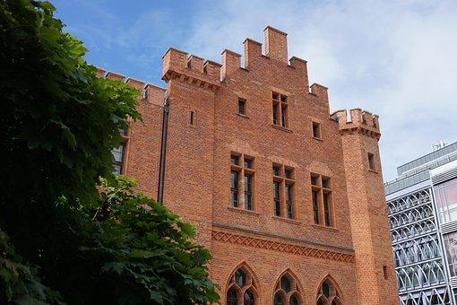 Kołobrzeg, Town Hall, Poland, Facade, Kolobrzeg