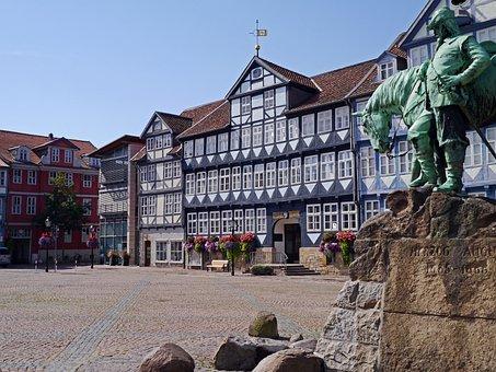 Truss, Historically, Marketplace, Wolfenbüttel