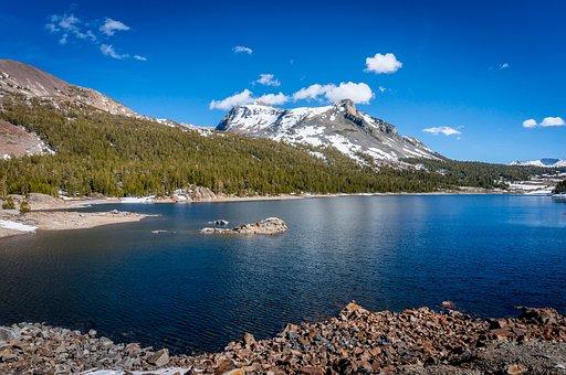 Valley, Mountains, Yosemite, Yosemite Valley