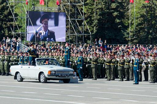 Victory Day, The 9th Of May, Parade, Commander In Chief