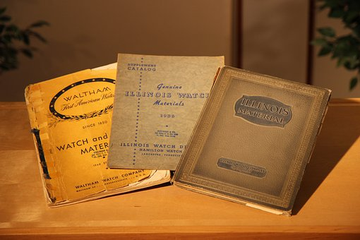 Books, Vintage Old, Watch Books