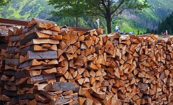 Wood, Fuel, Firewood, Logs, Wood Logs, Beech Logs