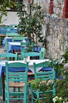 Tavern, Local, Greece, Patch, Alley, Holiday, Eat Drink