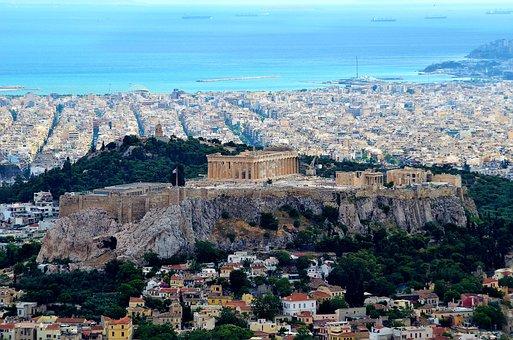 Citadel, Athena, Ancient, Acropolis, Milestone, Greece