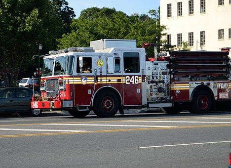 Fire Truck, Engine Truck, Emergency, Rescue, Vehicle