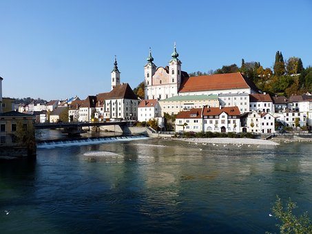 Steyr, Enns, Church, St Michael, Upper Austria
