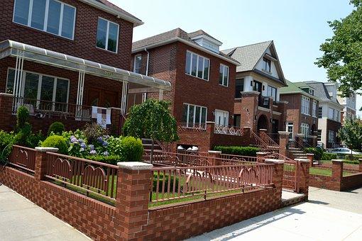 Two Family Homes, Brick Houses, Brick Home, Estate