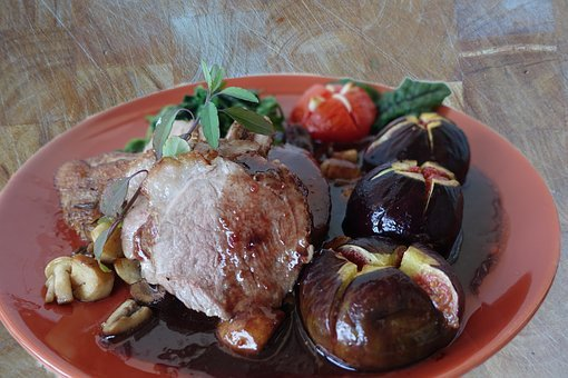 Duck Breast, Figs, Food, Speciality, Taste, Delights
