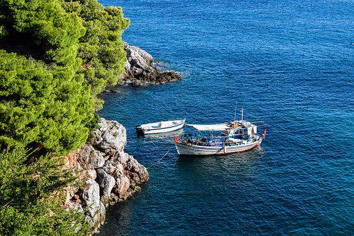 Greece, Skopelos, Stafylos, Island, Greek, Sporades