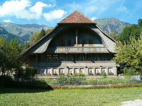 Farmhouse, Wooden, Historical, Traditional