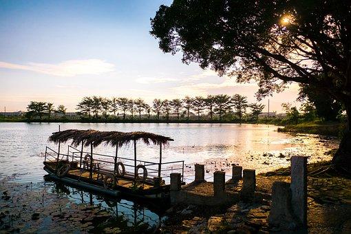 Tainan, The Old Sugar Village, Landscape, Lakeside