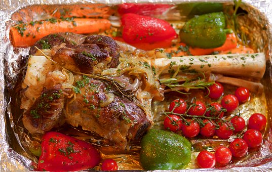 Leg Of Lamb, Tjena-kitchen, Vegetables, Red Meat