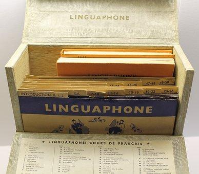 Education, Historic, Old, Linguaphone, Learn, Language