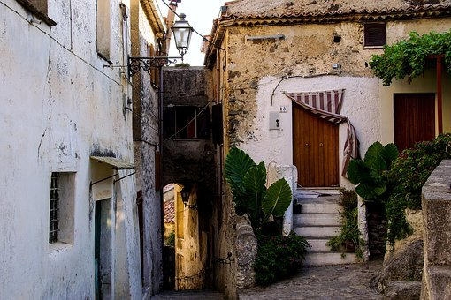 Old Houses, Old Town, Architecture, Scalea, Houses