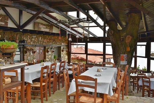 Cafe, Restaurant, Tavern, Nei Pori, Platamonas, Greece
