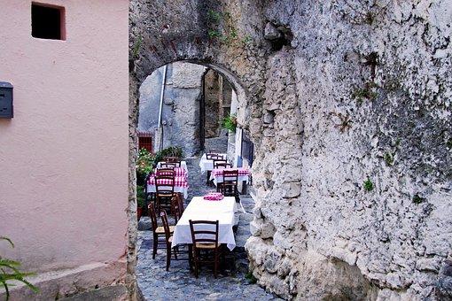 Tavern, Osteria, Restaurant, Old Town, Scalea, Calabria