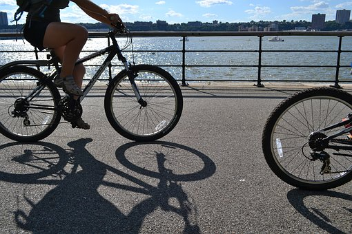 Bikes, Bike Riding, Riverside Drive, Riverside Park