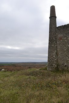 Tin, Mine, Cornwall, Industrial, Engine, Mining, Ruin