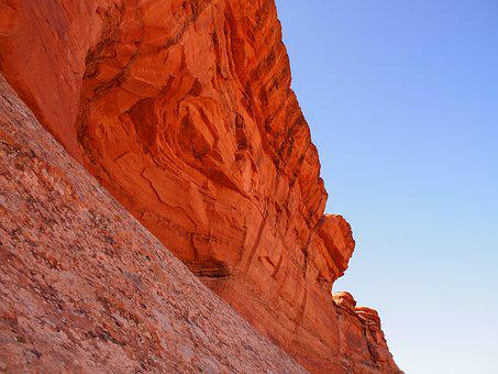 Sandstone, Red, Canyon, Rock, Travel, Stone, Outdoors