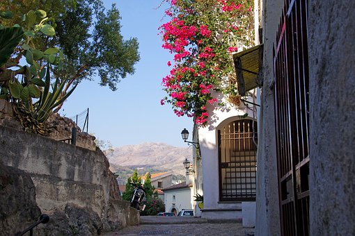 Village, Borgo, Old Houses, Town, Scalea, Calabria