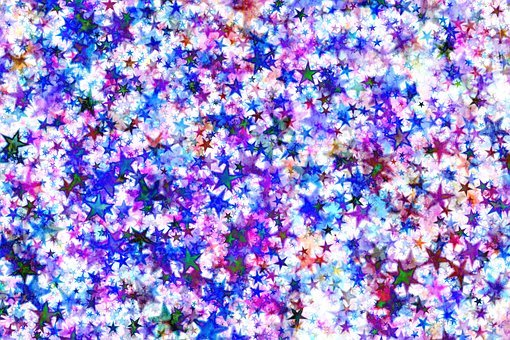 Star, Abstract, Advent, Christmas, Violet, Symbols