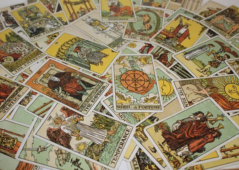 Craft, Tarot, Divination, Wheel Of Fortune, Esoteric