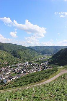 Dernau, Ahr Valley, Vineyards, Vines, Winegrowing, Wine