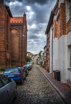 Wismar, Alley, Small Twiete, Historically, Homes