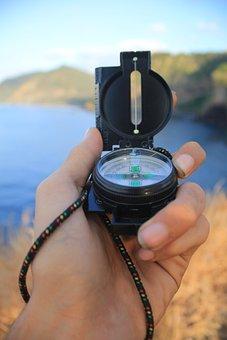 Compass, Way, Desten, Travel, Journey, Direction, Arrow