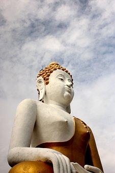 พระ, Buddha Statue, พ, A Pilgrimage, Art, Statue