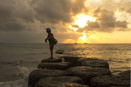 Beach, Sailor, Sea, Summer, Travel, Ocean, Vacation