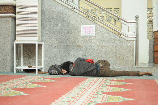 Sleep, Beggars, Floor