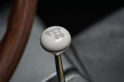 Oldtimer, Gearshift, Mercedes, Auto, Classic