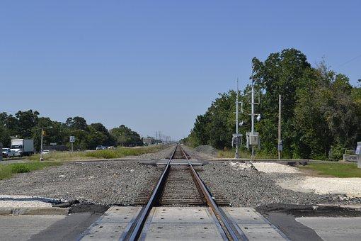 Houston Texas Rail Road Signal, Rail Road Crossing