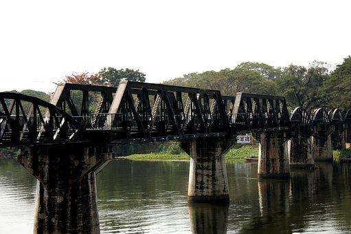 Kanchanaburi, The Bridge Over The River Kwai, Kwai Noi