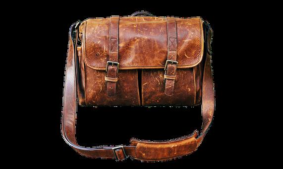 Bag, Leather Case, Briefcase, Schoolbag, Leather