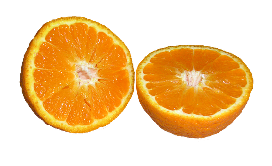 Mandarin, Citrus, Fruit, Cut