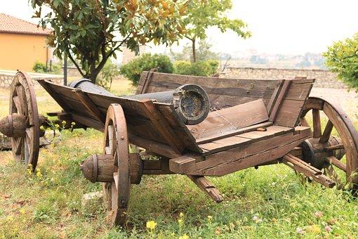 Safranbolu, Horse-drawn Carriage, Nostalgia, On, Old