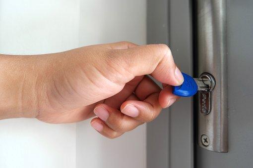 Key, Door, Opening Door, Lock, Security, House, Open