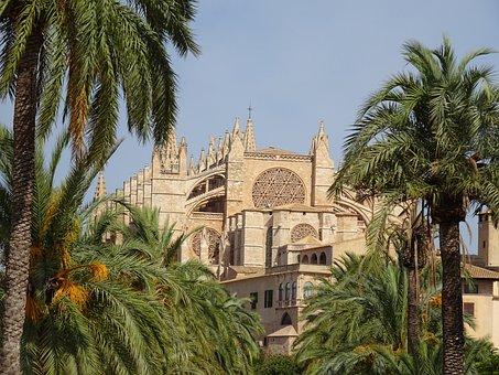 Palma, Cathedral, Mallorca