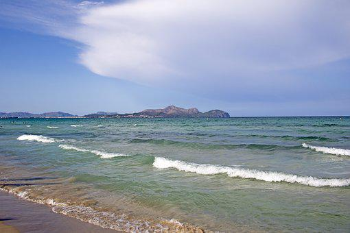 Mallorca, Beach, Playa De Muro, Port De Alcudia, Sea