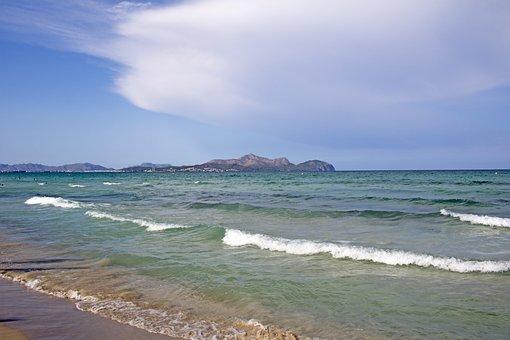 Mallorca, Beach, Playa De Muro, Port De Alcudia, Sea