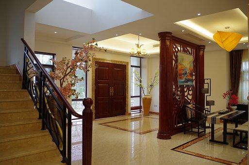 Villa Design, Living Room, Room Bedroom