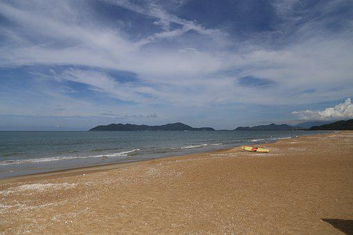 Vietnam, Beach, Angsana Franco, Sky, Sea