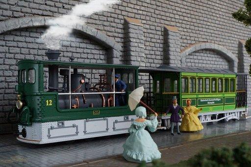 Model Railway, Scale H0, Diorama, Steam Railway, Bern