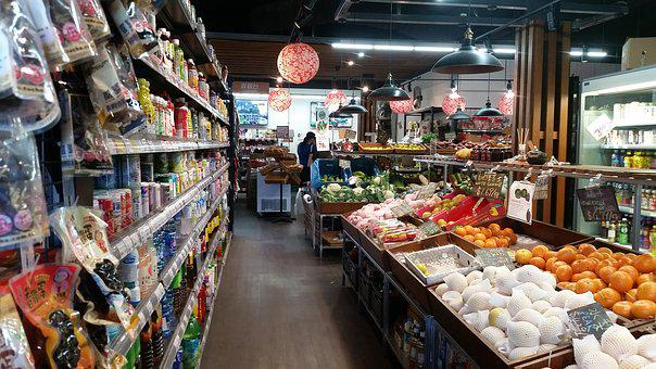 Store, Shop, Interior, Shopping, Produce, For Sale